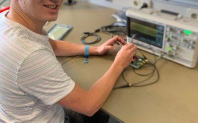 Even voorstellen: onze nieuwe collega Cris Kunnen gestart als hardware engineer