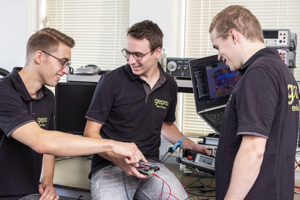 Hardware engineering in het Gepro team