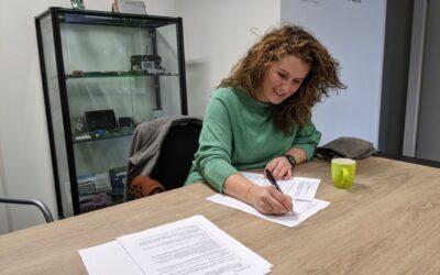 Even voorstellen: onze nieuwe officemanager Denise